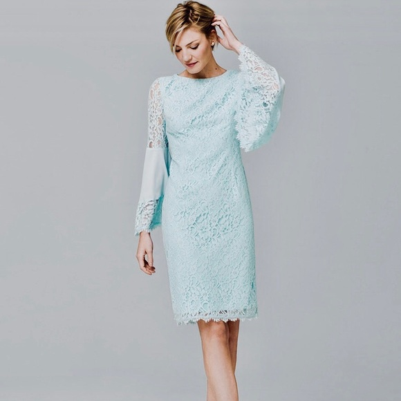 White House Black Market White Cap Sleeve Lace Fit /& Flare Dress Sz 12 NWT
